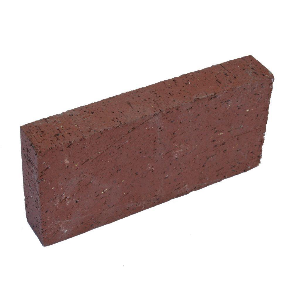 8 in. x 1 in. x 4 in. Red Clay Brick