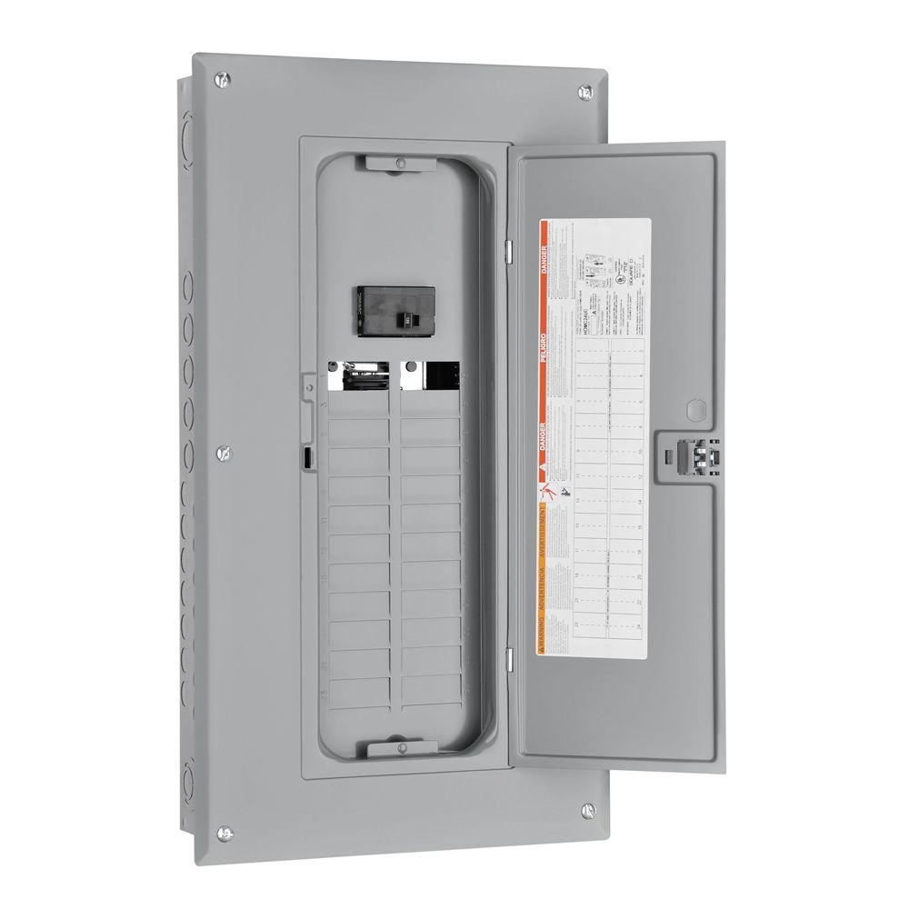 square d homeline 125 amp 24-space 24-circuit indoor main ... main breaker box wiring diagram 125 amp main breaker panel wiring diagram #12