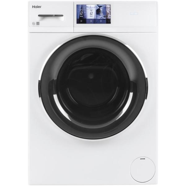 2.4 cu. ft. Smart High-Efficiency Stackable White Front Load Washing Machine with Steam, ENERGY STAR