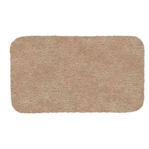Deals on Mohawk Home Acclaim Sand 20 in. x 34 in. Nylon Bath Rug