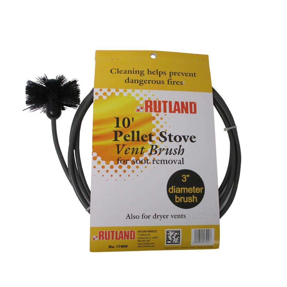 Pellet Stove Dryer Vent Brush. Rutland 3 in  Pellet Stove Dryer Vent Brush 17409   The Home Depot