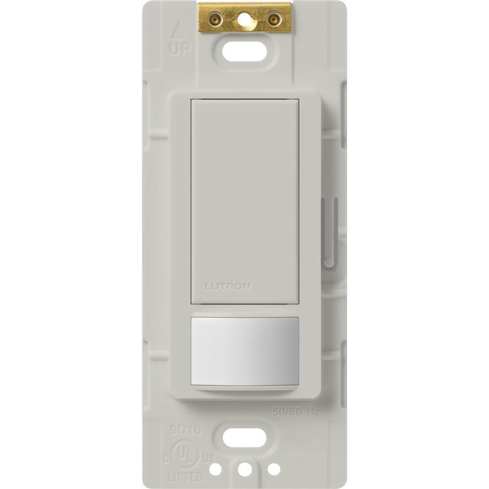 Maestro Motion Sensor Switch, 5-Amp, Single-Pole or Multi-Location, Palladium