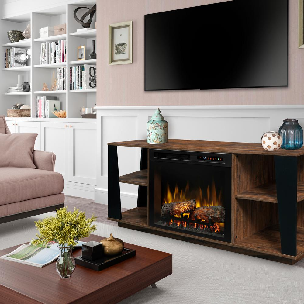 Dimplex arlo 60 in electric fireplace with glass ember - Going to bed with embers in fireplace ...