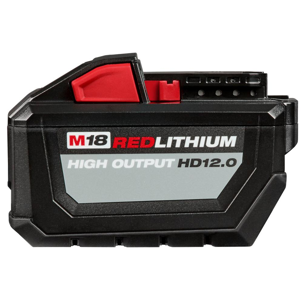 a41814cf8 Milwaukee M18 18-Volt Lithium-Ion High Output Battery Pack 12.0Ah-48 ...