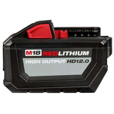 M18 18-Volt Lithium-Ion High Output Battery Pack 12.0Ah