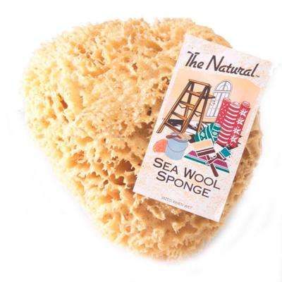 9 - 10 in. Natural Sea Wool Sponge (3-Pack)