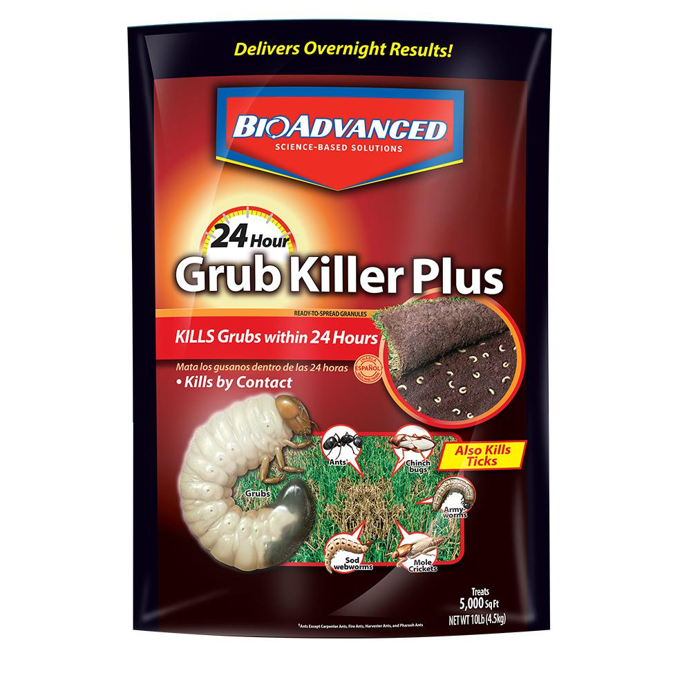 BioAdvanced 10 lb. 24-Hour Grub Killer Plus Granules