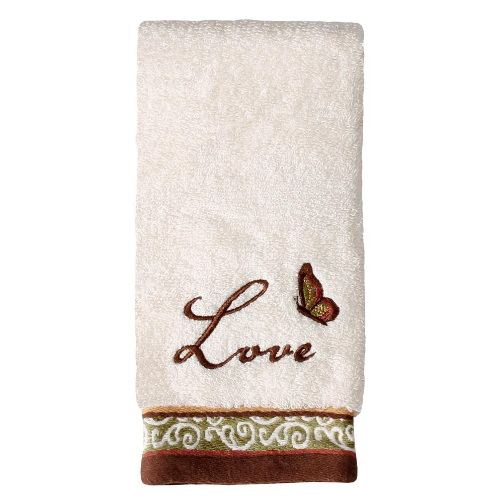 Saturday Knight Inspire Cotton Fingertip Towel In Natural