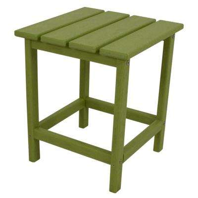 Long Island 18 in. Lime Patio Side Table