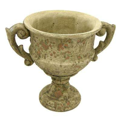 7.75 in. Grey Footed URN Small