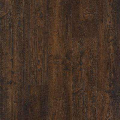Outlast+ Java Scraped Oak Laminate Flooring - 5 in. x 7 in. Take Home Sample