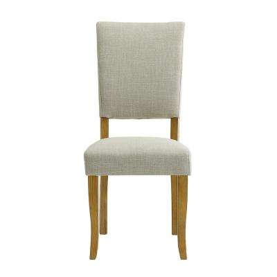 Open-Back Ivory Parsons Dining Chair (Set of 2)