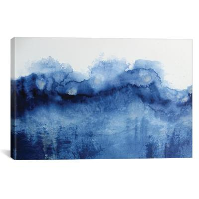 """Arctic In Blue"" by KR MOEHR Canvas Wall Art"