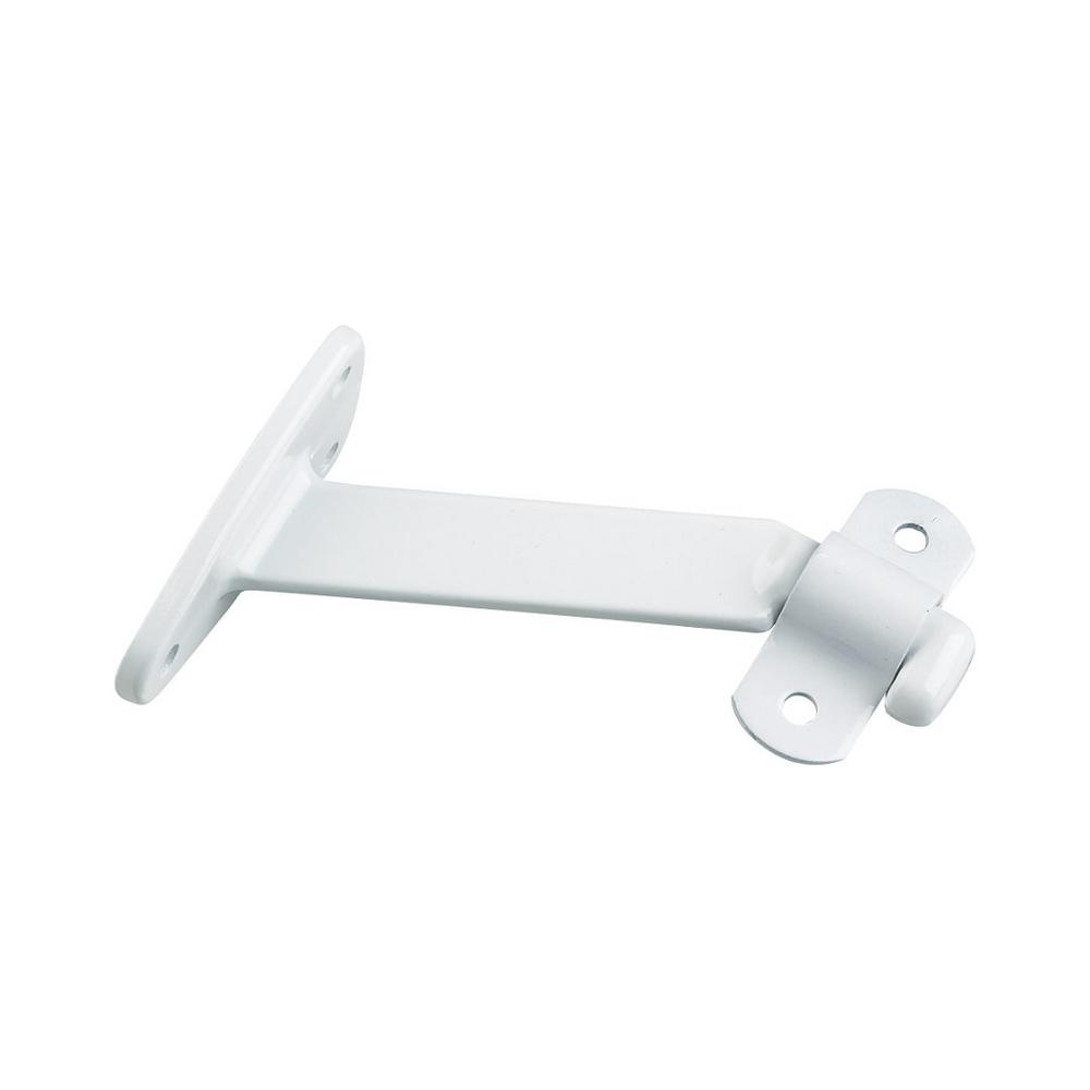 White Heavy Duty Aluminum Handrail Bracket