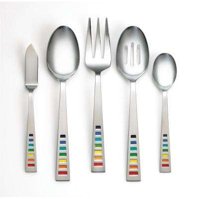 5-Piece Celebration Multicolor Hostess Set