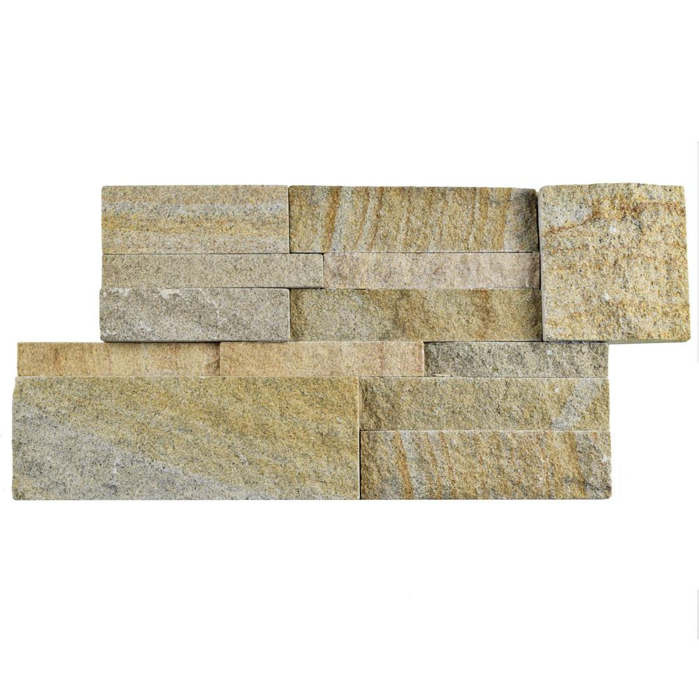 Merola Tile Ledger Panel Sandstone 7 in. x 13-1/2 in. Natural ...