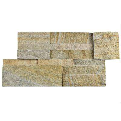 Ledger Panel Sandstone 7 in. x 13-1/2 in. Natural Stone Wall Tile (6 cases / 31.5 sq. ft. / pallet)