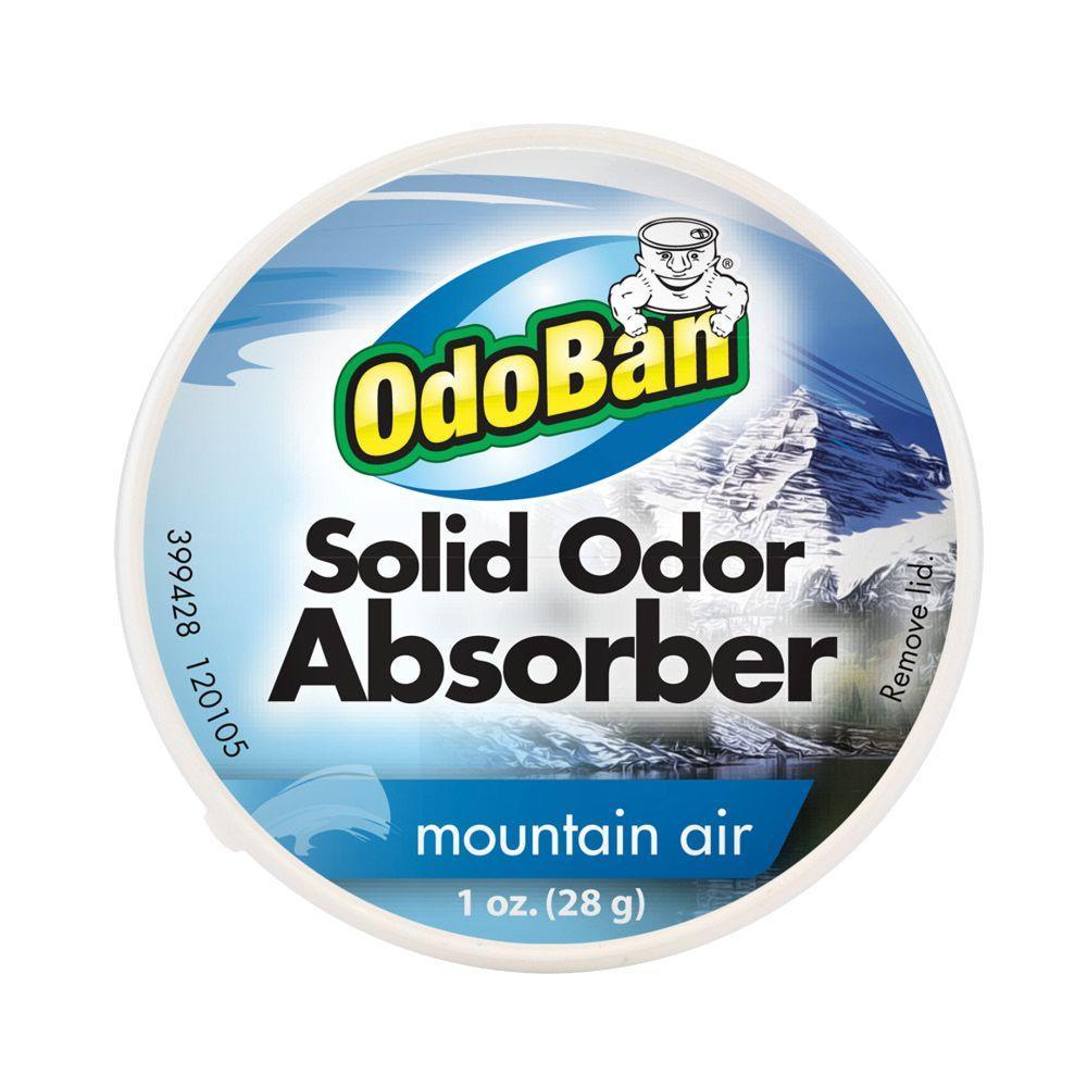 Odoban 1 Oz Mountain Air Solid Odor Absorber 9735n01 1z