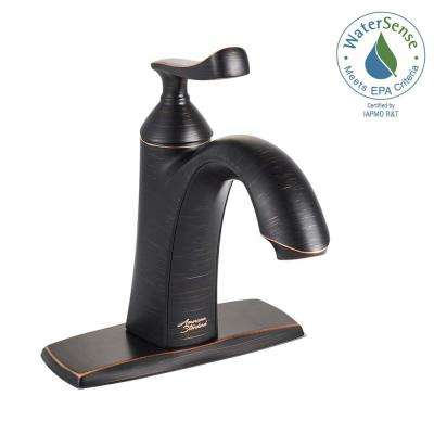 Chatfield Single Hole Single-Handle Bathroom Faucet in Legacy Bronze