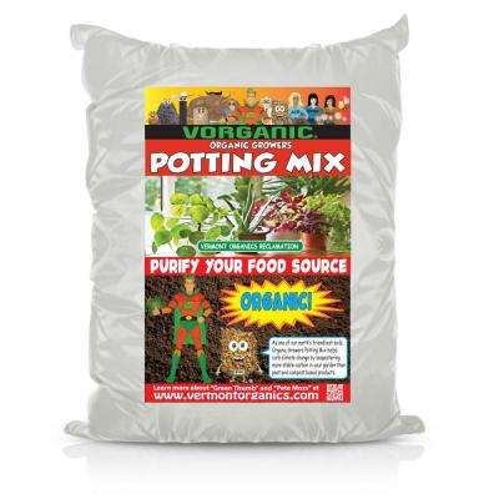 60 Qt. (2 Cu. Ft.) Organic Growers Potting Mix