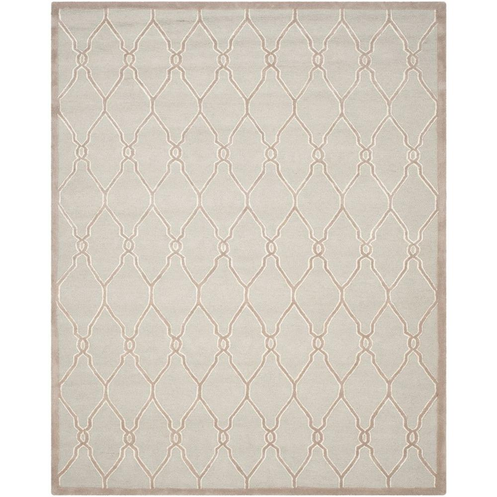Safavieh Cambridge Light Gray Ivory 8 Ft X 10 Ft Area
