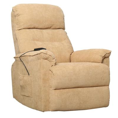 Yellow Power Lift Soft Upholstery Recliner Sofa Chair with Remote