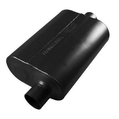 Universal Super 40 Muffler 409S - 3.00 Offset In / 3.00 Center Out