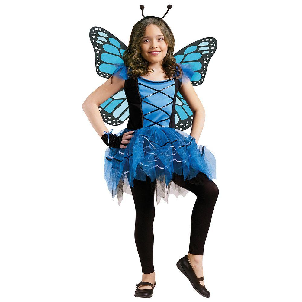 Girls Ballerina Butterfly Child Costume