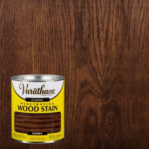 Varathane 1 Qt Honey Classic Wood Interior Stain 339718 The Home Depot