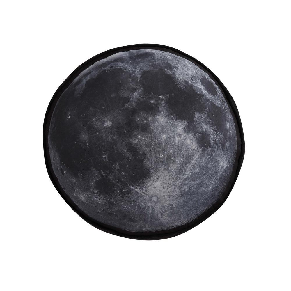 Kids Moon Printed Round Pillow