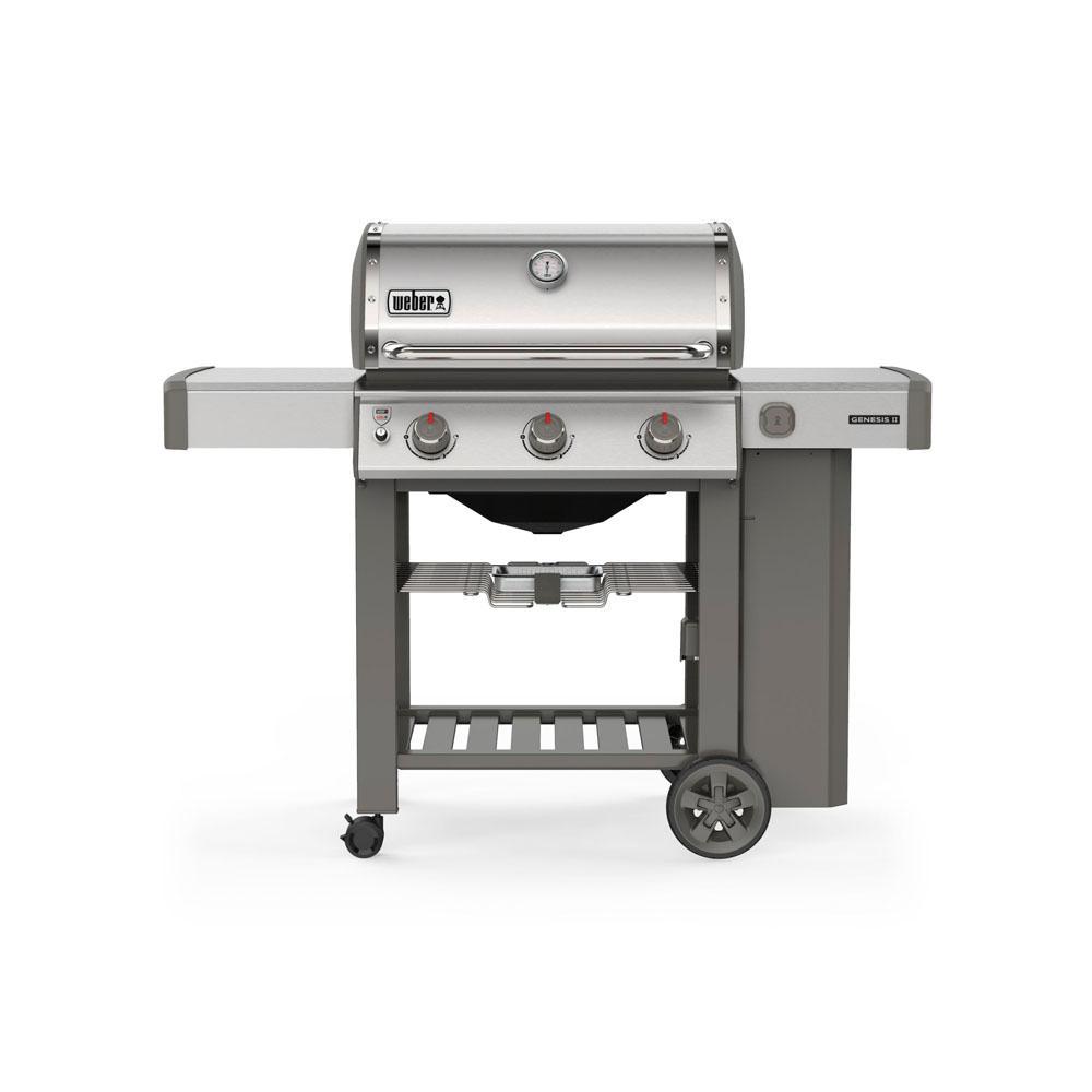 Weber Genesis Ii S 310 3 Burner Propane Gas Grill In Stainless Steel