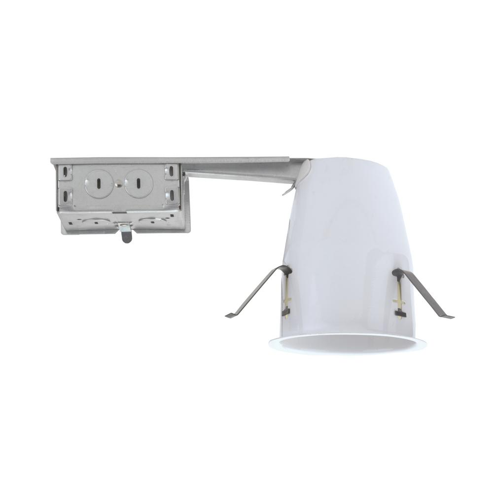 Nicor 4 in non ic remodel recessed housing for gu10 mr 16 19003ar non ic remodel recessed housing for gu10 mr 16 aloadofball Images