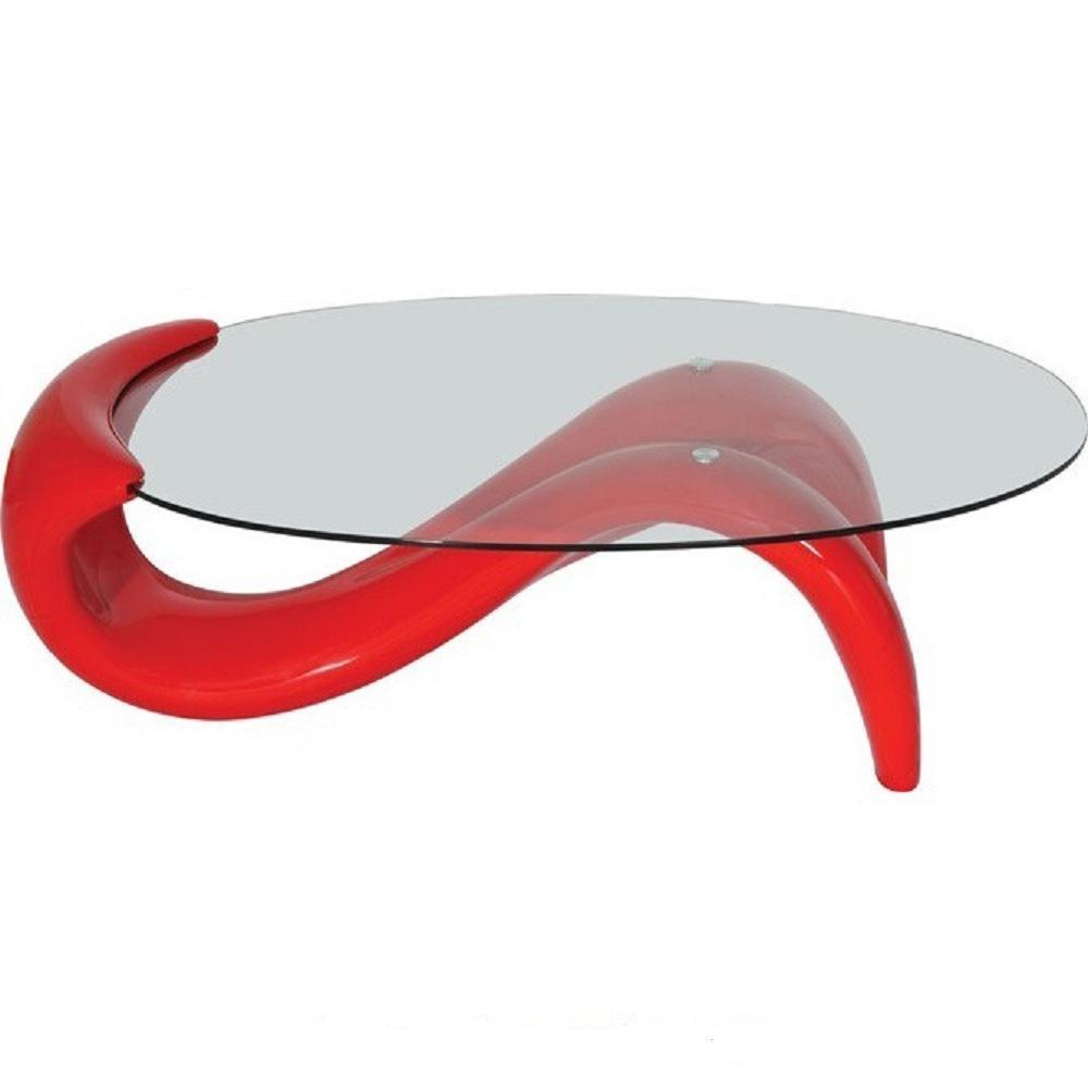 Modern Style Red Mermaid Coffee Table