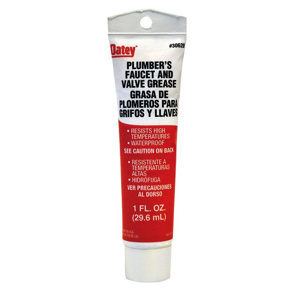 Oatey 1 oz. Plumber\'s Grease-30620 - The Home Depot