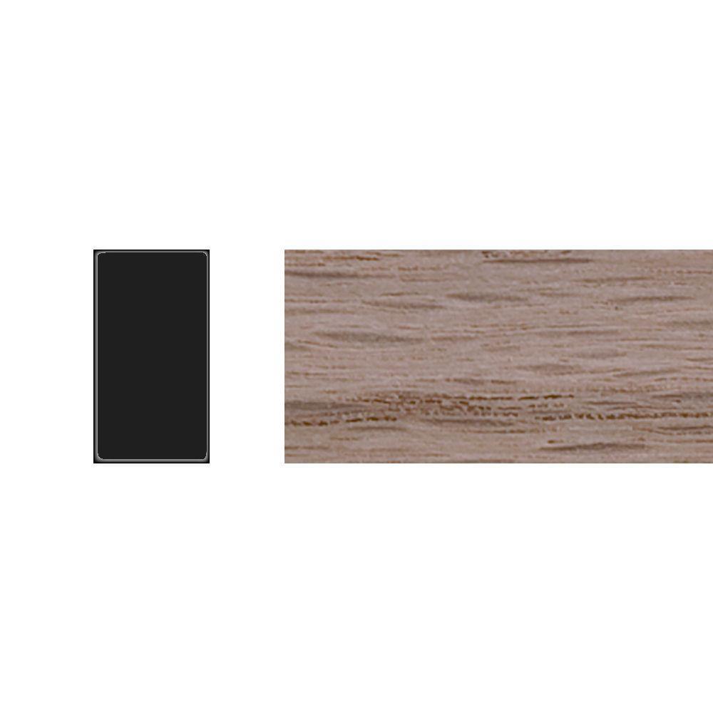 1//4 in. x 1/2 in. x 4 ft. Red Oak Rectangle Moulding