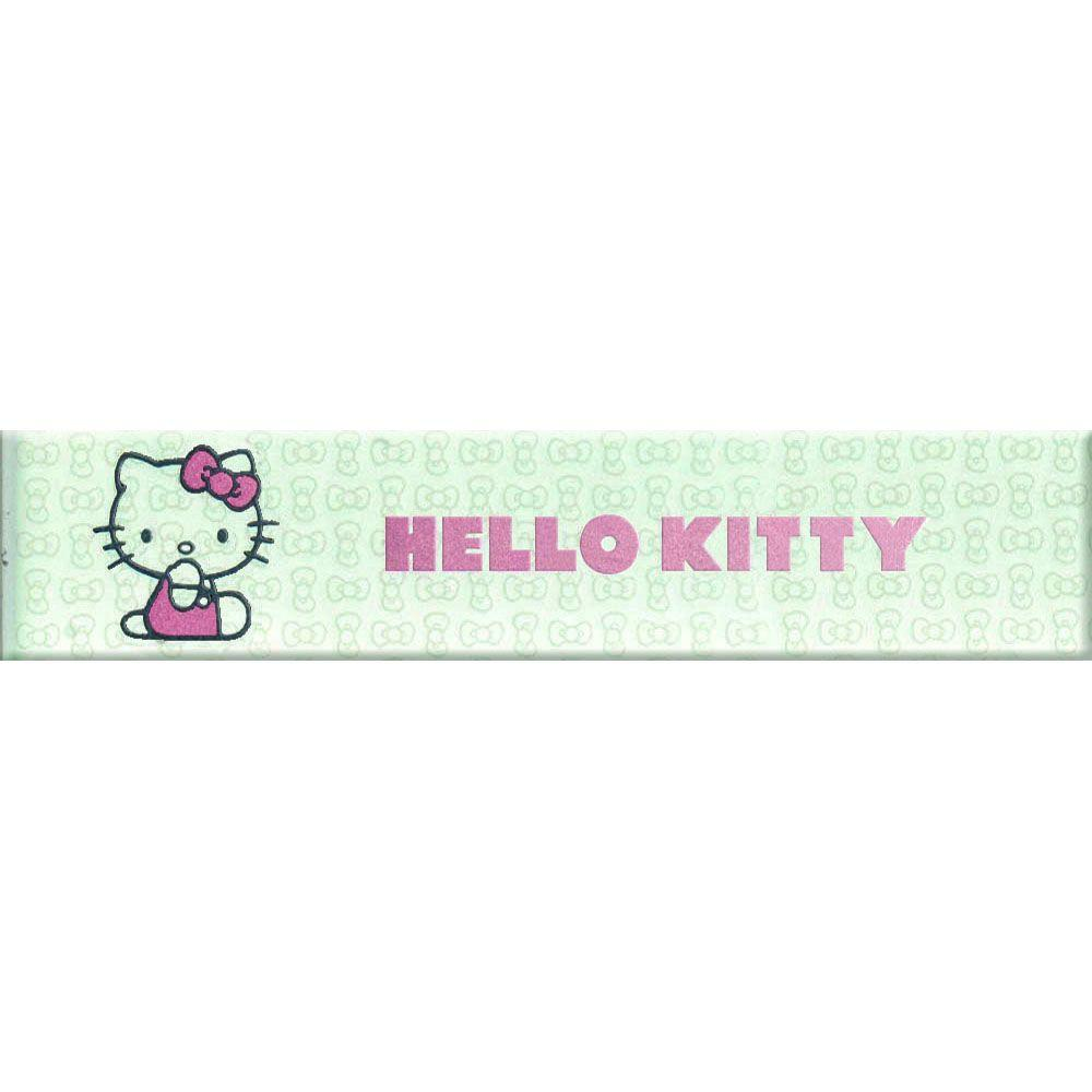 Hello Kitty Easy Classic Cute Pink 1.8 in. x 8 in. Ceramic Wall Tile
