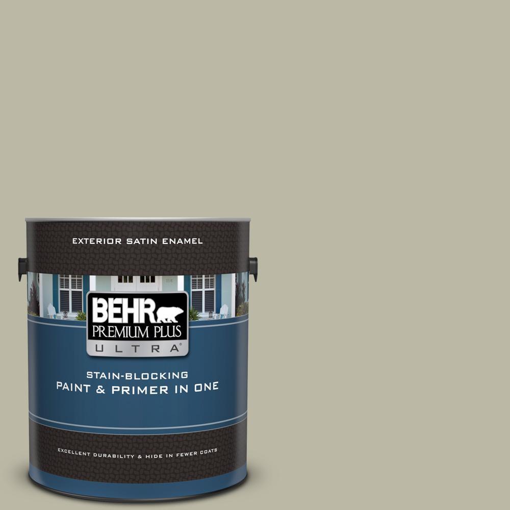 Behr Premium Plus Ultra 1 Gal 400f 4 Restful Satin Enamel Exterior