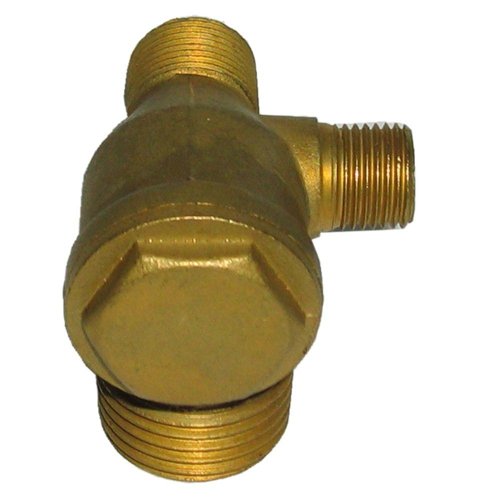 Powermate in degree right check valve rp