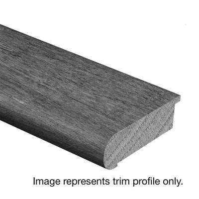 Oak Driftwood Wire Brushed 3/4 in. Thick x 2-3/4 in. Wide x 94 in. Length Hardwood Stair Nose Molding