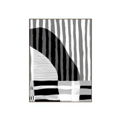 "41.25 in. x 31.25 in. ""Visions III"" by Bobby Berk Printed Framed Wall Art"