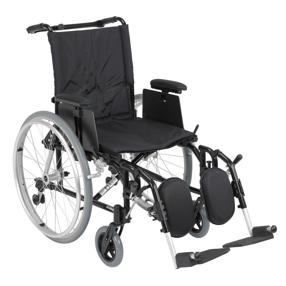 Drive Cougar Ultra Lightweight Rehab Wheelchair with Deta...