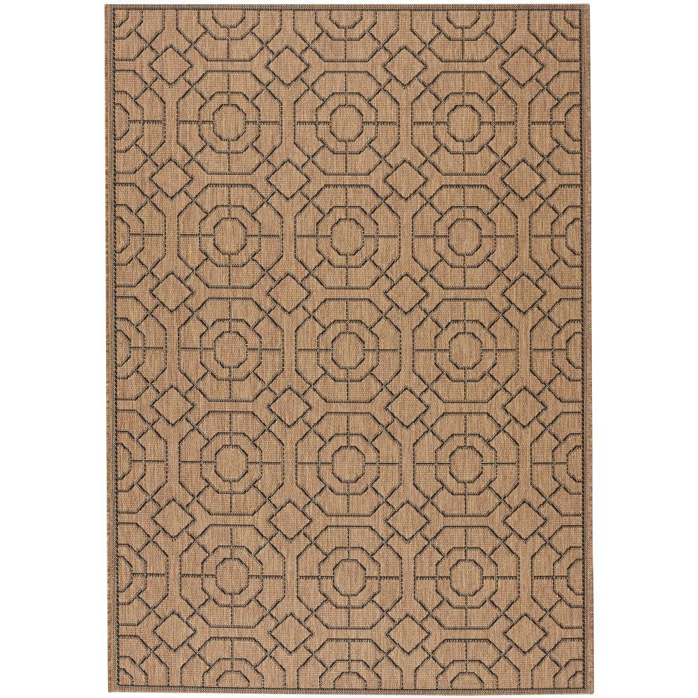 Home decorators collection laguna cocoa black 5 ft 10 in for Home decorators jules rug