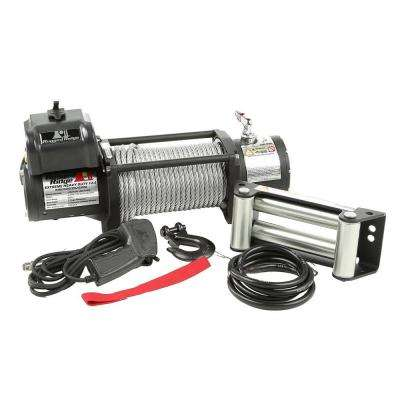 12,500 lb. Spartacus Heavy-Duty Winch with Steel Cable