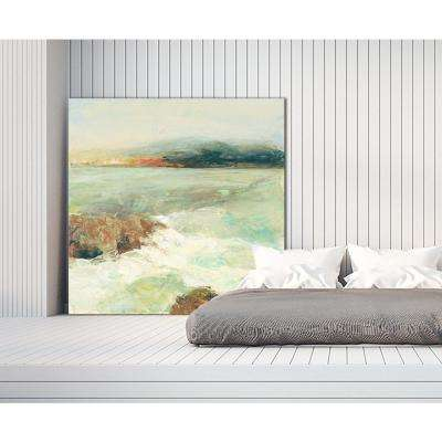 "72 in. x 72 in. ""Point Lobos Crop"" by Julia Purinton Printed Framed Canvas Wall Art"