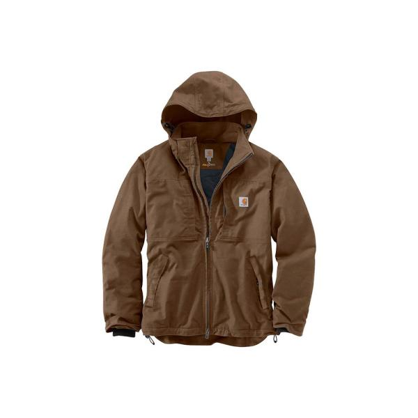 Reviews For Carhartt Men S Regular Xx Large Canyon Brown Cotton Polyester Full Swing Cryder Jacket 102207 908 The Home Depot