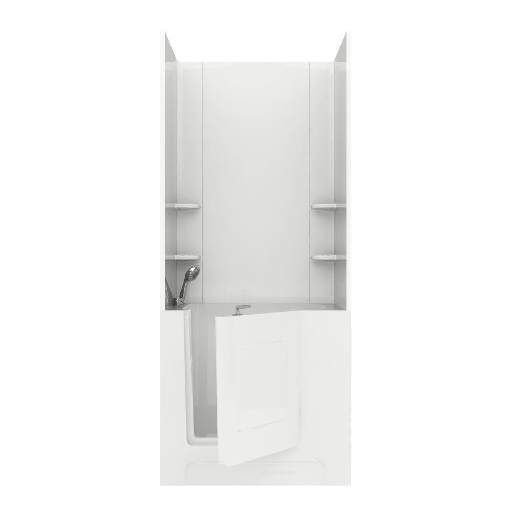 Beige - Bathtub Walls & Surrounds - Bathtubs - The Home Depot