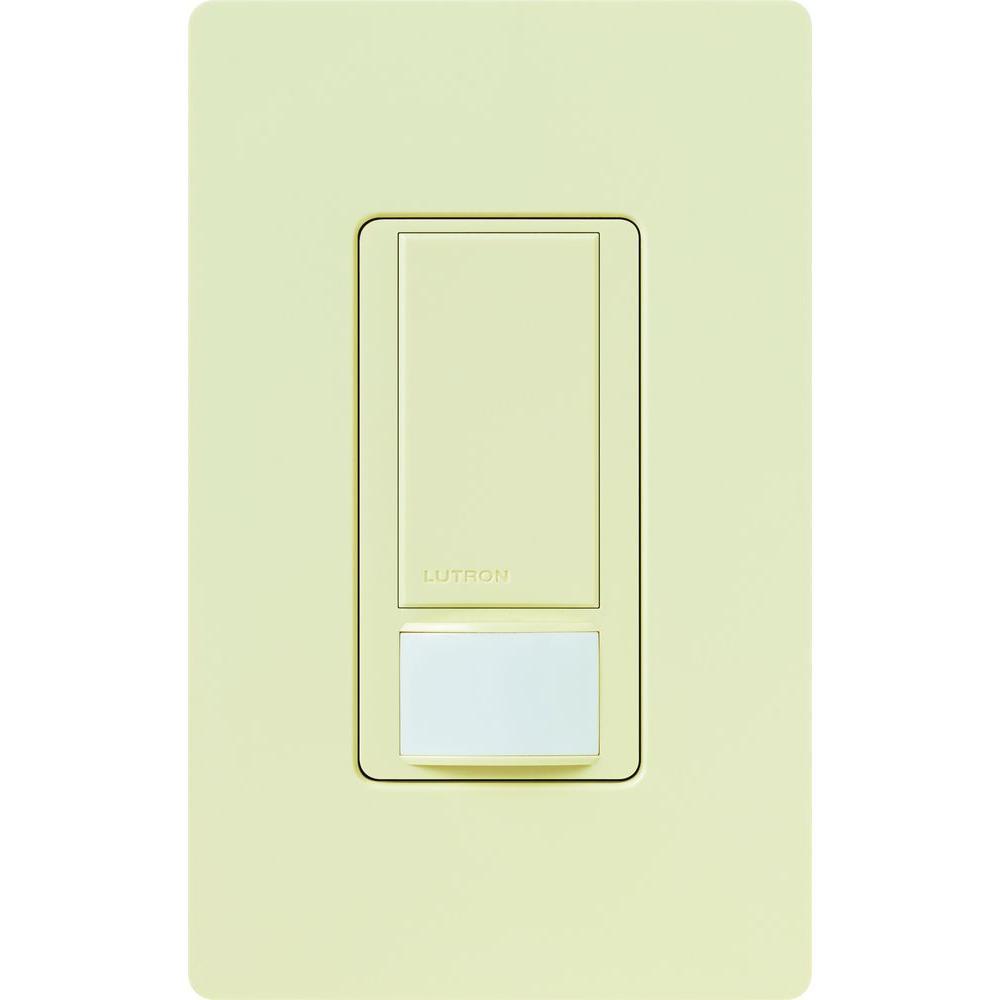 Lutron Maestro Dual Voltage Motion Sensor switch, 6-Amp, Single-Pole,