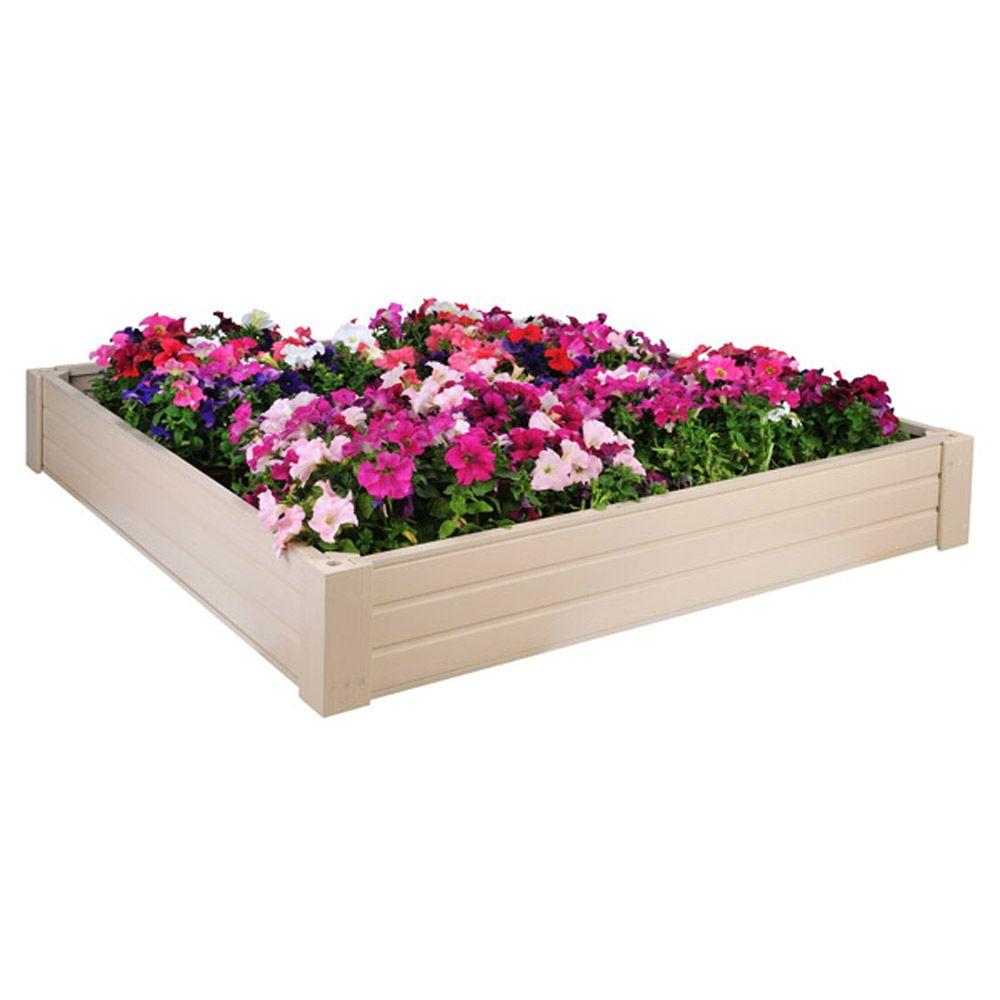 New Age Pet 4 ft. x 4 ft. EcoConcepts Raised Garden Bed-DISCONTINUED