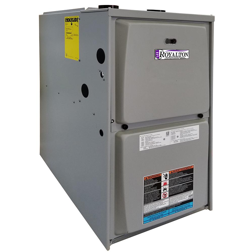ROYALTON 88,000 BTU 95% AFUE 2-Stage Upflow/Horizontal Forced Air Natural  Gas