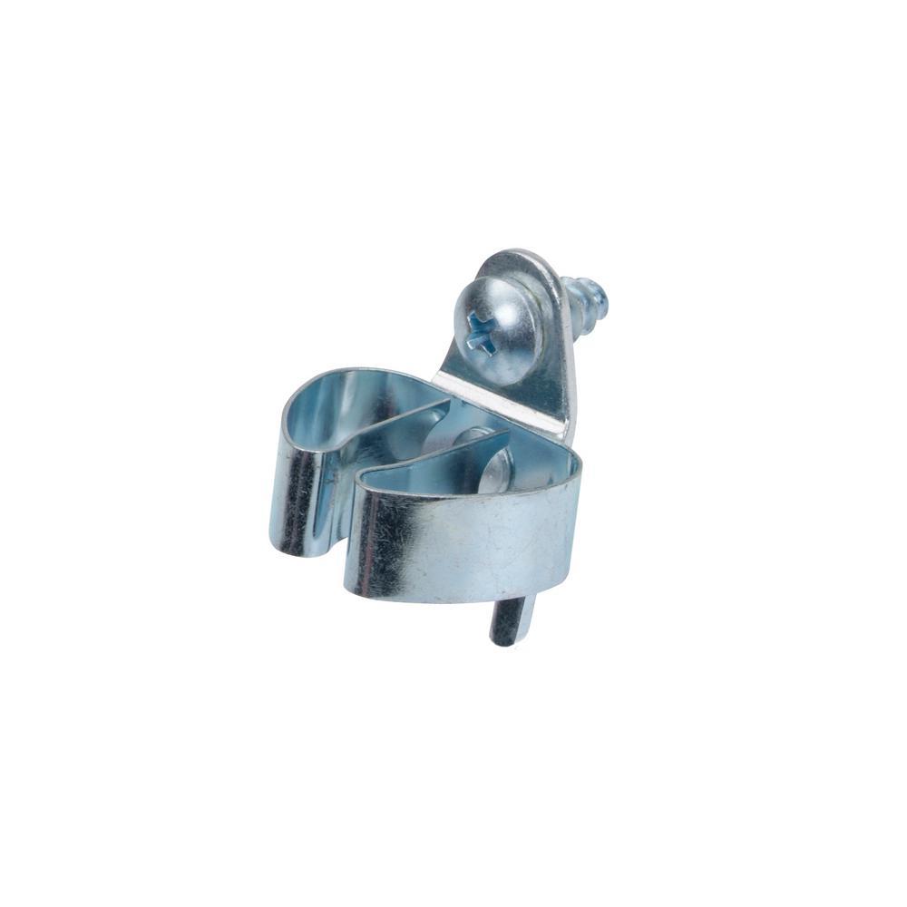 DuraHook 1-7/16 in. L x 1/2 in. to 1 in. Steel Hold Range Standard Spring Clip (3-Pack)